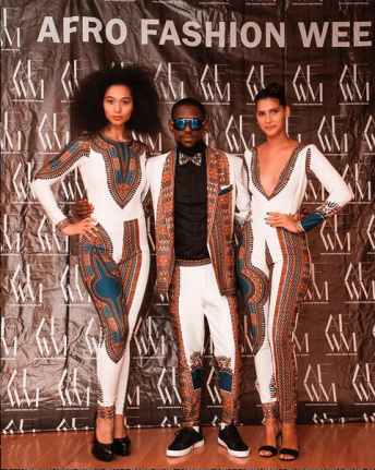 "Afro Fashion Week Milano 2018 collection by ""African Fashion Today"""